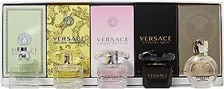Versace Miniatures 5 Piece Mini Gift Set for Women