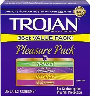 Trojan Condom Pleasure Pack Lubricated