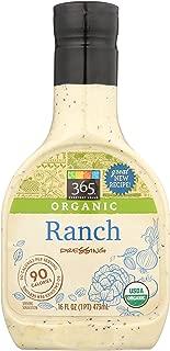 365 Everyday Value, Organic Ranch Dressing, 16 fl oz