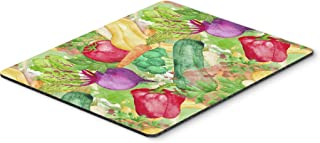 Caroline's Treasures BB7572MP Watercolor Vegetables Farm to Table Mouse Pad, Hot Pad or Trivet, Large, Multicolor
