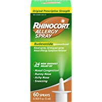 Rhinocort Allergy Nasal Spray 24 Hour Relief 60 Spray
