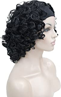 Best curly headband wigs Reviews