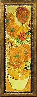 ユ-パワ- Museum Art ミュージアムシリーズ LLサイズ Gel加工アートフレーム ゴッホ 「ひまわり」 MW-18092