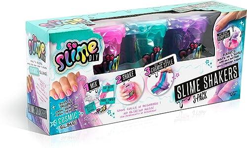 Canal Toys SSC 003 So DIY-Kit pour créer et décorer 3 slimes - So Slime - Slime Shaker 3 pots