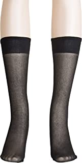 5f367a73c Light Support Knee High Stockings for Women - Plus Size Knee Highs - Pack  of 3