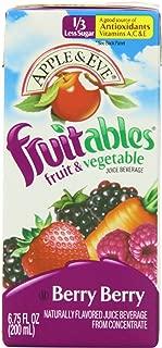 Apple & Eve Fruitables, Berry Berry Juice, 6.75 Fluid-oz., 40 Count