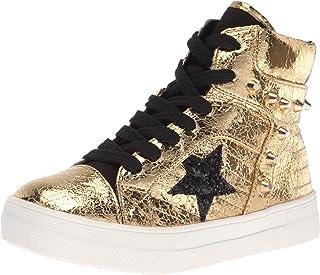 حذاء رياضي NINA للبنات من إيما، ذهبي، مقاس 5 وسط للأطفال الكبار