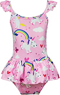 unicorn bathing suit 4t