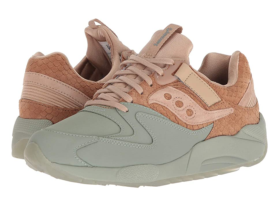 Saucony Originals Grid 9000 HT (Tan/Green) Men
