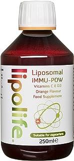 IMMU-POW - LIPOSOMAL VITAMIN C/D3-250ml - Lipolife
