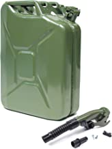 VALPRO 20 Liter (5 Gallon) NATO Jerry Can with Flexible Spout