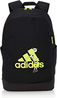 adidas Kids Cleofus Graphic Classic Backpack, Black/Semi Solar Slime