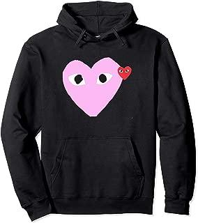 Heart Pocket T-Shirt Men Women Kids Pullover Hoodie