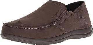 Crocs Mens - Santa Cruz Convertible Leather Slip-on