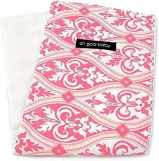 "Ah Goo Baby Burp Cloth 100% Cotton, Unisex, 14""x18"", Charleston Pattern"