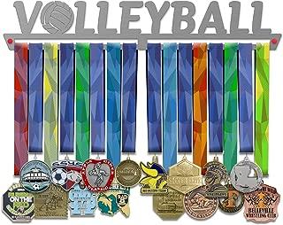 VICTORY HANGERS Achievements Medal Hanger Display Rack - Jiu Jitsu, Fencing, Volleyball, Basketball, Swimming - 17.72 in