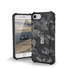 UAG iPhone 8/iPhone 7/iPhone 6s [4.7-inch Screen] Pathfinder SE Camo Feather-Light Rugged [Midnight] Military Drop Tested iPhone Case