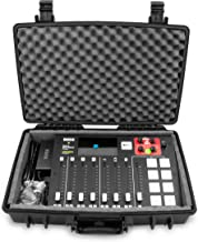 Casematix Waterproof Mixer Carry Case Fits Rode Rodecaster Pro Podcast Production Studio and Adapter - Hard Carry Case Wit...