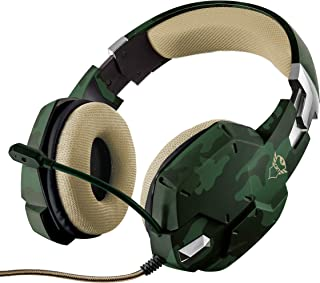 Trust Gaming GXT 322C Gaming Headset - green camouflage ゲーミングヘッドセット 20865