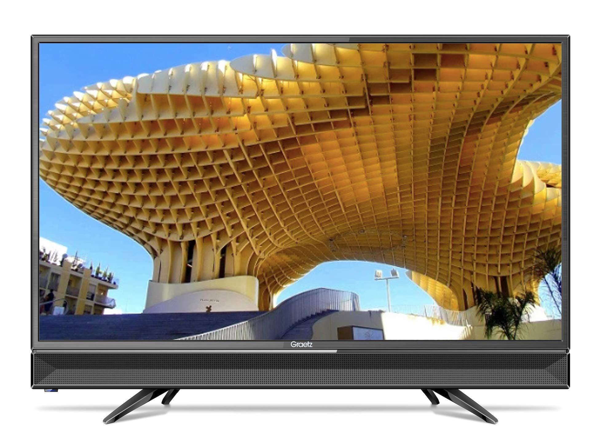 Graetz - TV LED de 32 pulgadas, HD ready, conexión para señal digital terrestre DVB/T2. Código: GR32W2800: Amazon.es: Electrónica