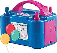 Prextex Portable Balloon Pump Electric Air Blower Dual Nozzle Balloon Inflator for Fast..