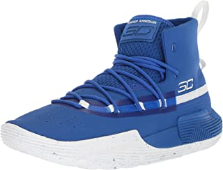 curry shoes blue