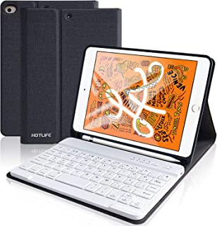 iPad Mini 5 2019キーボード ケース iPad Mini 4 2019 新型 7.9インチ iPad mini 5 キーボード ケース アップルペンシル収納可能 分離式 脱着 アイパッド MINI 4/MINI 5 7.9インチ ケース プロ キーボード付き ペンホルダー内蔵