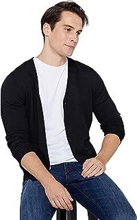 cashmere full zip cardigan