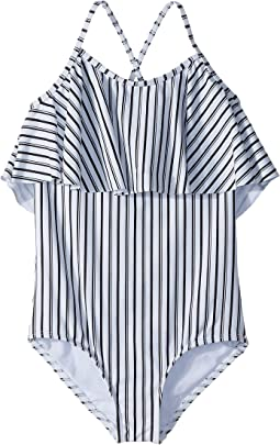 O'Neill Kids - Highway Stripe One-Piece (Big Kids)