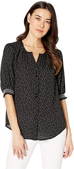 Valerie Button Down Top