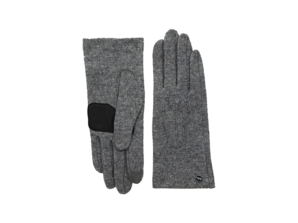 Echo Design Classic Gloves (Heather Grey) Extreme Cold Weather Gloves