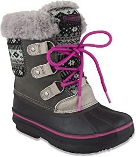 Girls Tottenham Cold Weather Warm Lined Snow Boot