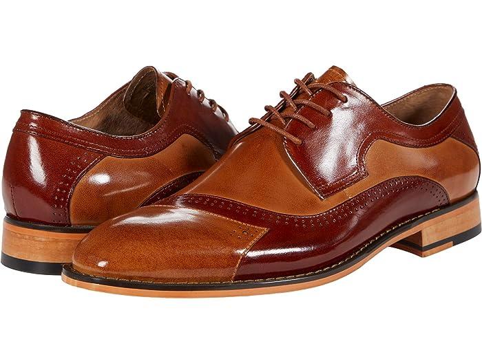 Mens Vintage Shoes, Boots | Retro Shoes & Boots Stacy Adams Paxton Cap Toe Oxford Mens Shoes $71.99 AT vintagedancer.com