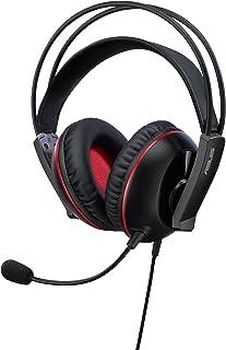 Asus Cerberus - Auriculares gaming con auriculares de neodimio de 60 mm compatible con todo tipo de portátiles y dispositivos inteligentes