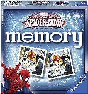 Ravensburger 22254–Educational Game–Grand Memory Ultimate Spiderman