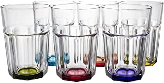 Best rainbow colored glassware Reviews