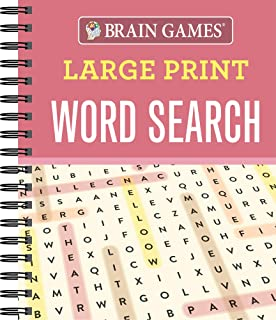 Brain Games - Large Print Word Search