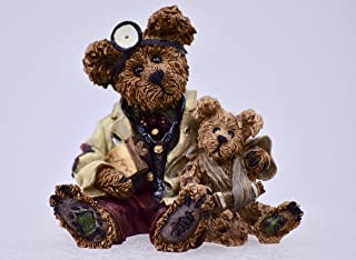 1998 - Bearstone Collection - Boyd's Bears & Friends - Dr. Harrison Griz Md PhD BUD - Numbered - Retired - Collectible