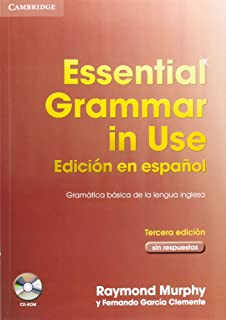 Essential Grammar in Use Spanish Edition without answers with CD-ROM 3rd Edition