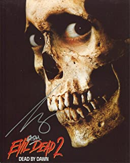 Bruce Campbell Signed / Autographed 8x10 glossy Photo as Ash from Army of Darkness and Evil dead. Includes Fanexpo Fanexpo Certificate of Authenticity and Proof of signing. Entertainment Autograph Original.
