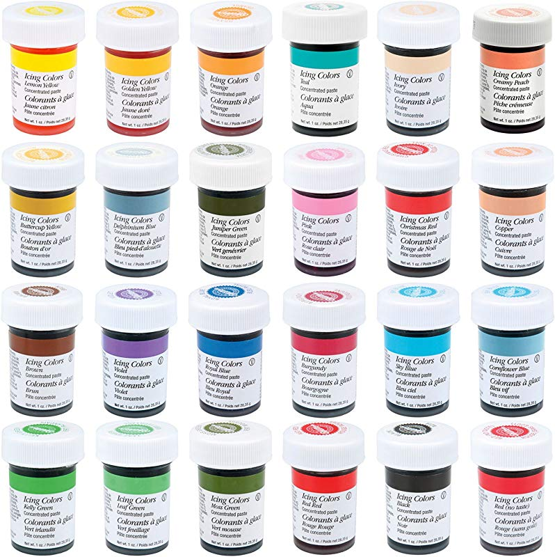Wilton Master 24 Icing Color 1 Ounce Set