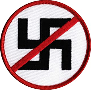 NO NAZI Embroidered Patch 3