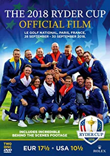 The 2018 Ryder Cup Official Film and Behind the Scenes [DVD] [Reino Unido]