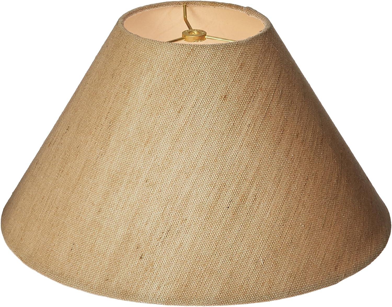 Royal Designs Coolie Empire Hardback White Linen Kansas City Mall Max 79% OFF Shade 6 Lamp
