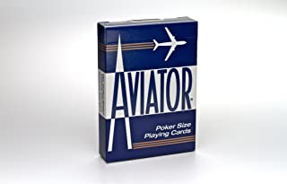 Aviator Poker Size Playing Cards, Colors May Vary