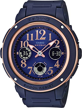 [カシオ]CASIO 腕時計 BABY-G ベビージー ネイビー&ブラウン BGA-150PG-2B2JF レディース