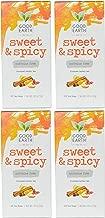 Good Earth Sweet & Spicy Flavored 25 Tea Bags 4 Pack Herbal Teas