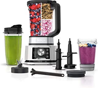 Ninja Foodi SS351 Power Blender & Processor System with Smoothie Bowl Maker and Nutrient Extractor*. 4in1 Blender + Food P...