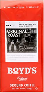 Boyd's Orginal Roast Coffee - Ground Medium Roast - 12-Oz Bag