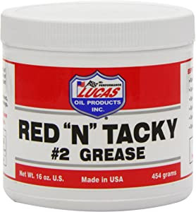 Lucas Oil 10574 Red and Tacky Grease  454